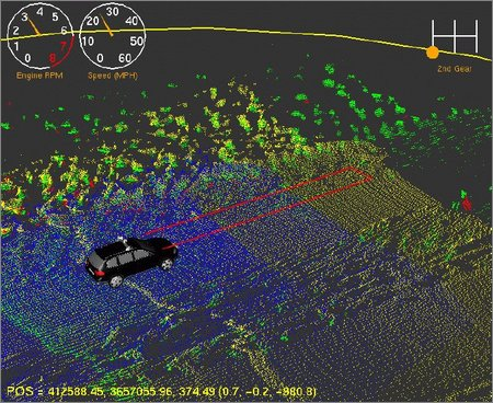 Stanley's laser mapping