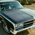 black, 2 door 1965 chrysler 300 hardtop