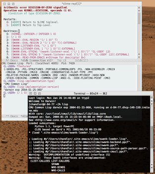 CMUCL on OS X