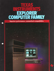 TI Explorer Family brochure, page 1