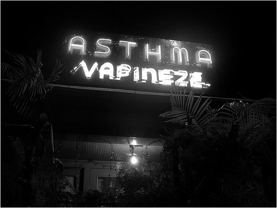 asthma vapineze sign on fairfax