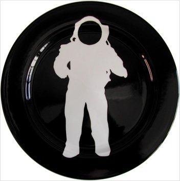 astronaut plate