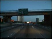 freeways are special. especially at dusk.