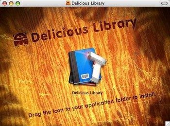delicious library disk image
