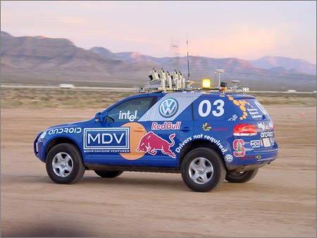 stanley, stanford's grand challenge vehicle