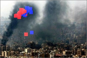smoking beirut by adnan hajj with cloning highlighted