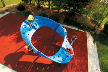 infinity climber play structure