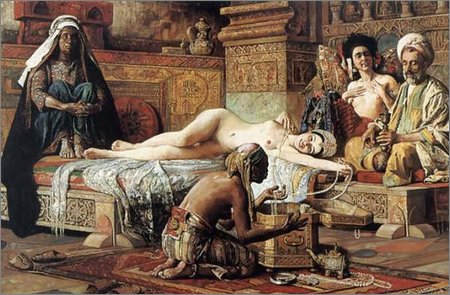 in the harem, gyula tornai
