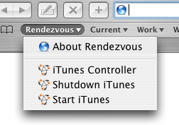 rendezvous-enabled itunes