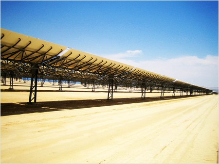 kramer junction solar power plant