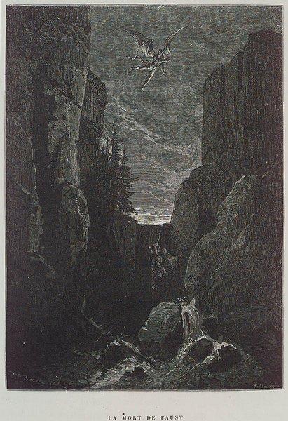 La Mort de Faust