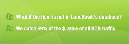 lanehawk faq 3: what if the item is not in lanehawk's database