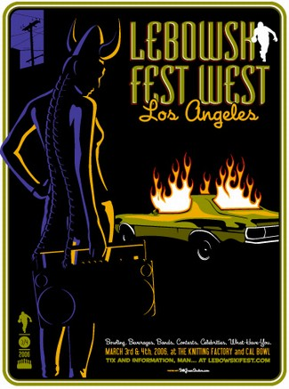 lebowkifest west 2006 poster