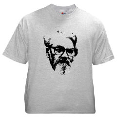 lispmeister's john mccarthy t-shirt, front