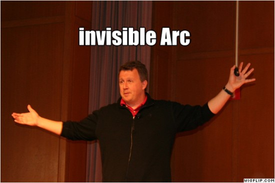 LOLPG: invisible arc