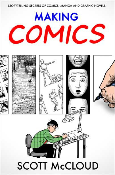 making comics cover