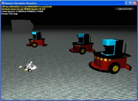 microsoft robotics studio simulator