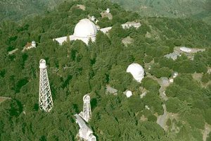 aerial view of mt. wilson observatory