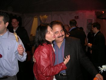 joanne with ron jeremy
