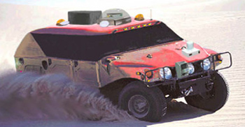 the red team's hummer: sandstorm