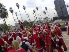 santas in hollywood