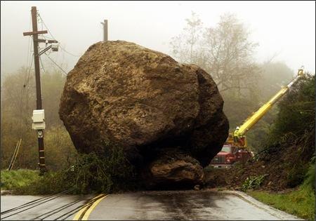 topanga canyon boulder