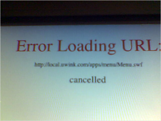 uwink interface failure